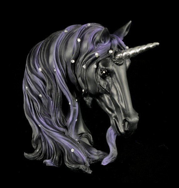 Bust of a Unicorn - Jewelled Midnight - small
