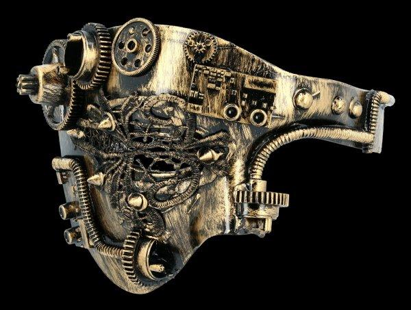 Steampunk Mask - Tekno Wheel