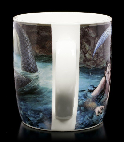 Ceramic Mug with Mermaid - Hidden Depths