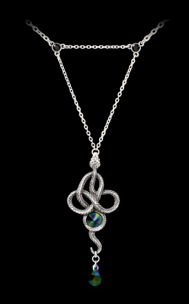 Alchemy Snake Necklace - Tercia Serpent