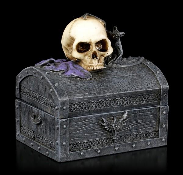Totenkopf Schatulle - Dark Shroud