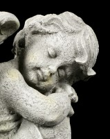 Angel Garden Figurine - Sleeping Child right - small
