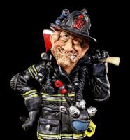 Feuerwehrmann Figur mit Axt - Funny Jobs