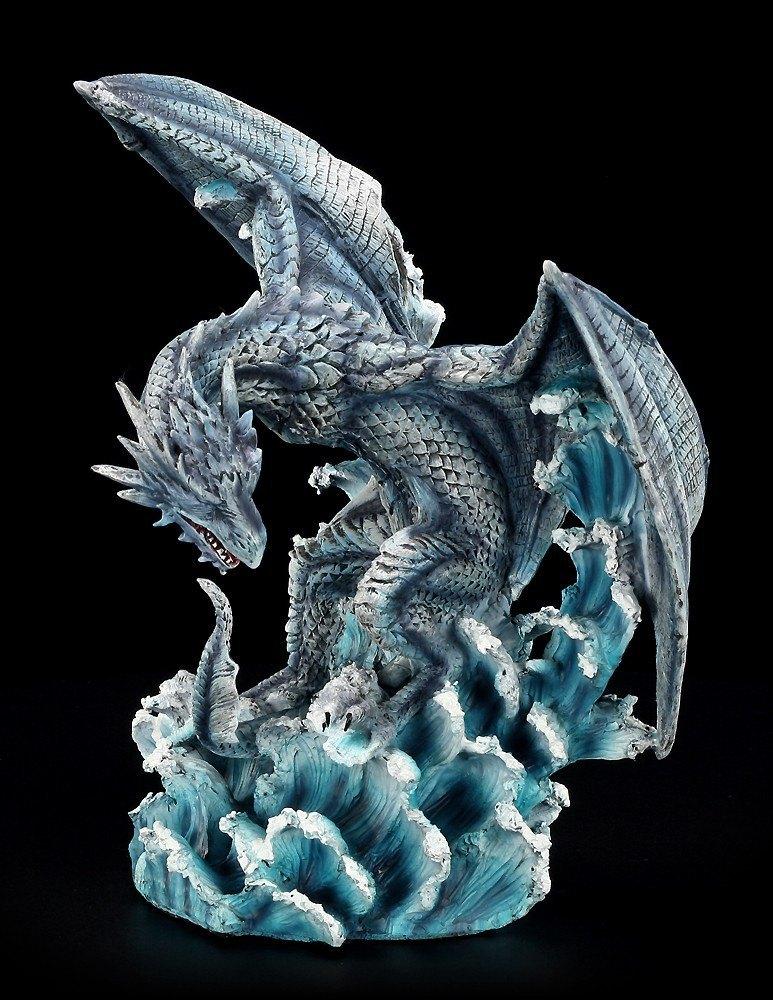 Dragon Figurine - Nitidius in Ice