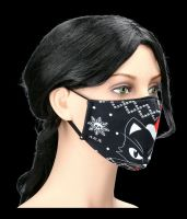 Face Covering - Christmas Cat Mask
