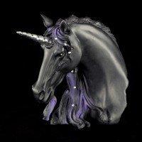 Bust of a Unicorn - Jewelled Midnight - small