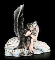 Angel Figurine - Liberty with Tiger