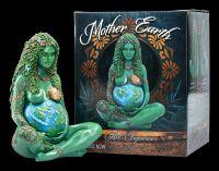 Himmlische Gaia Figur - Mutter Erde - mittel bemalt