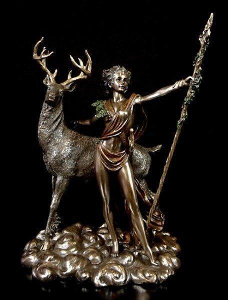 Göttin Diana Figur