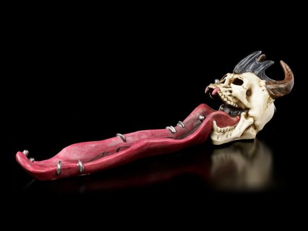 Räucherstäbchenhalter Schädel - Pierced Prodigy