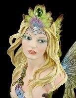 Elfen Büste - Peacock Princess