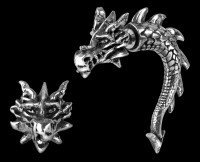 Alchemy Gothic Faux Ear Stretcher - Tor Dragon