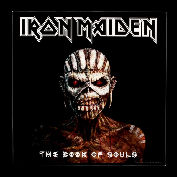 Iron Maiden Hochglanz Bild - The Book of Souls