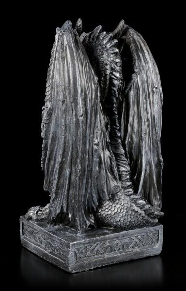 Große Drachen Figur - Syus mit Schwert