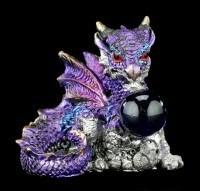 Drachen Figuren 4er Set - Der Schatz