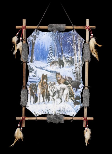 Wall Ornament Wolf Pack - Alphas Alliance