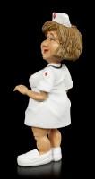Funny Job Figur - Krankenschwester mit Stethoskop