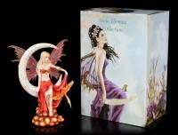Fairy Figurine with Phoenix - Fire Moon by Nene Thomas