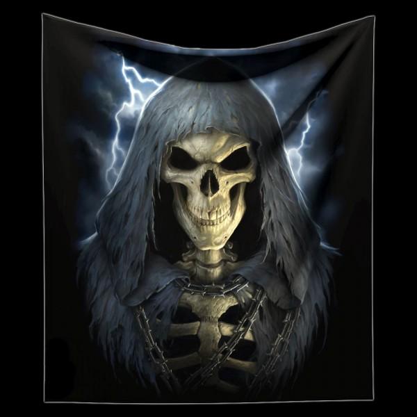 Kuschelige Decke mit Skelett - The Reaper