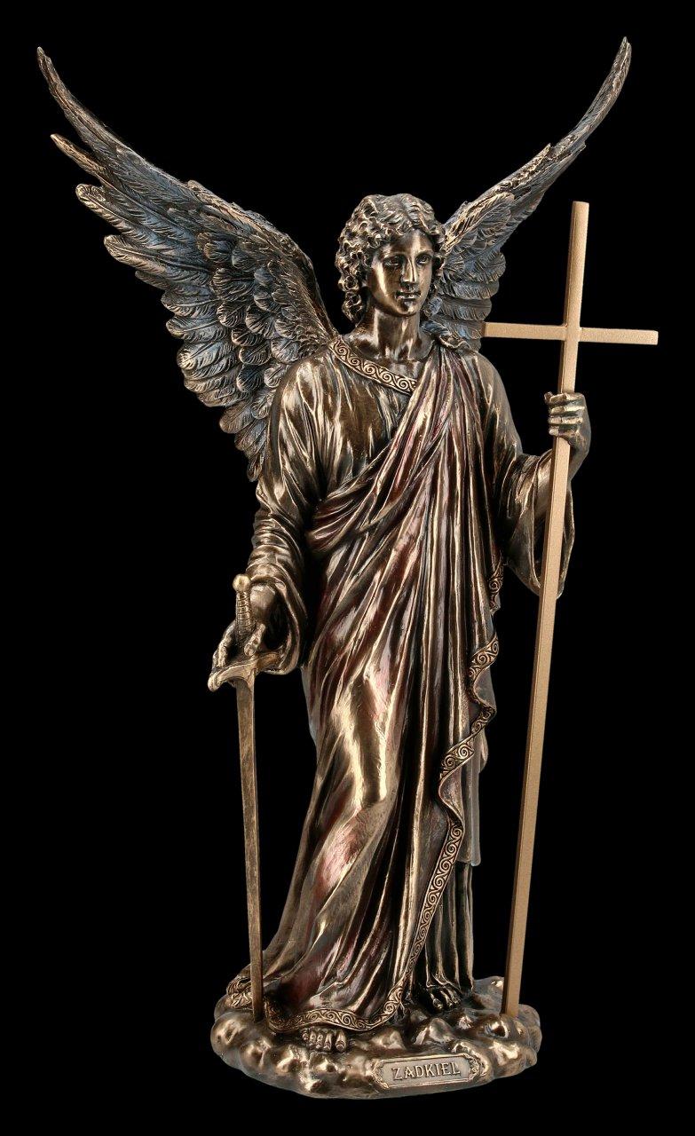 Erzengel Zadkiel Figur - Göttliche Gerechtigkeit