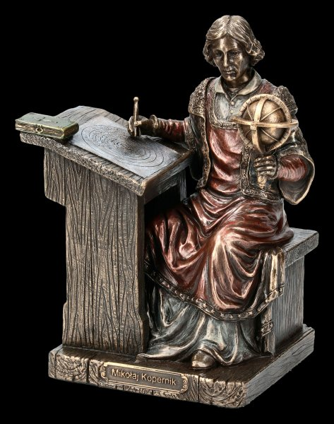 Mikolaj Kopernik Figurine