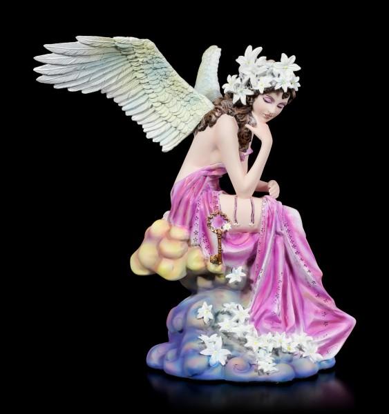 Angel Figurine - Fiona with golden Key