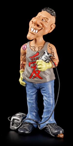 Funny Job Figurine - Tattoo Artist