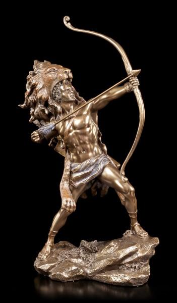 Herkules Figur mit Bogen - Herakles