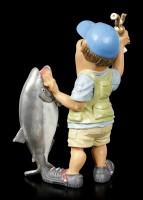 Funny Sports Figur - Fischer mit Trophäe