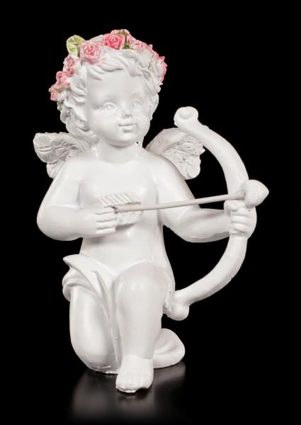 Engel Figuren - Mit Pfeil und Bogen - 2er Set