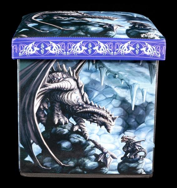 Aufbewahrungshocker Steindrache - Rock Dragon