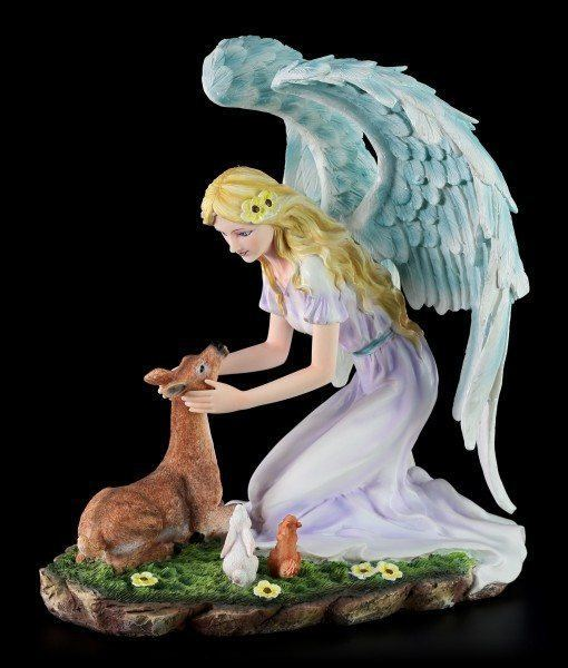 Angel Figurine - Calista with Deer