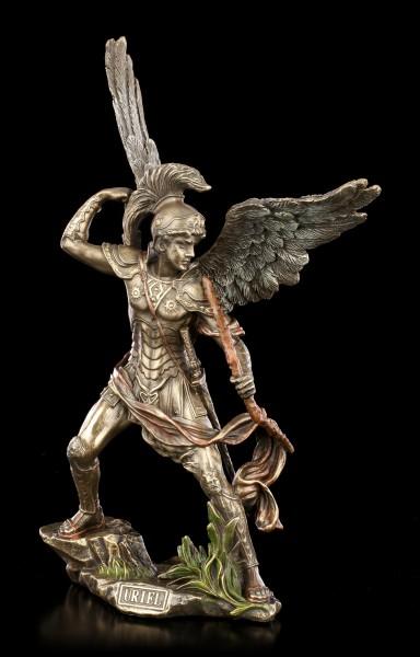 Archangel Uriel Figurine with Fire Arc