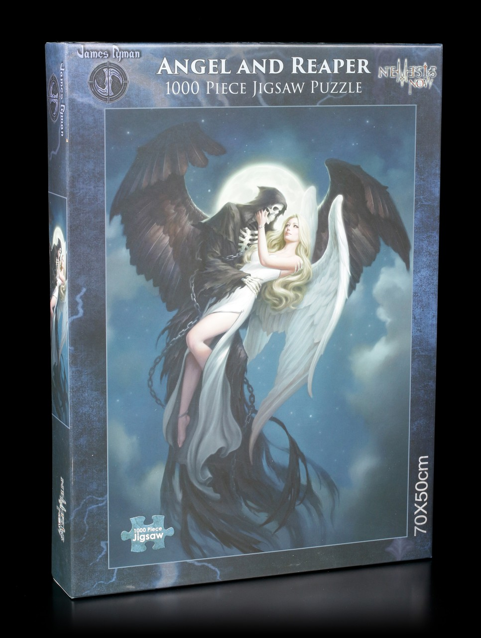 Fantasy Jigsaw Puzzle - Angel and the Reaper