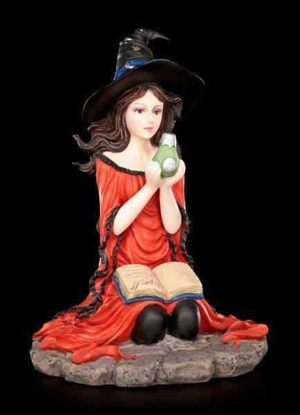 Hexen Figur - Ruby mit Zaubertrank