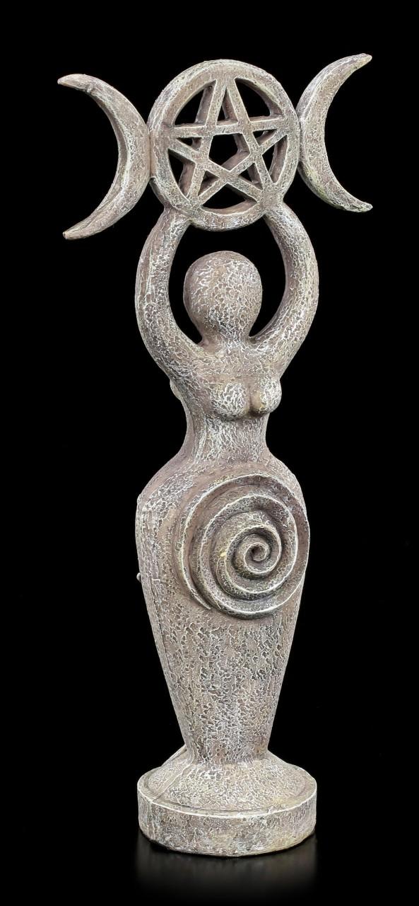 Spiral Goddess Figurine - Stone Look