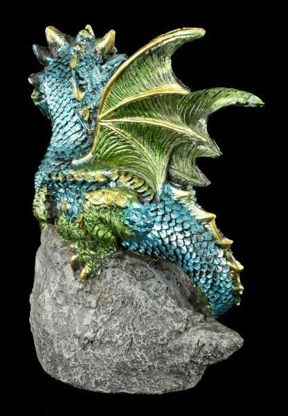 Dragon Figurine - Nest Guardian - Green