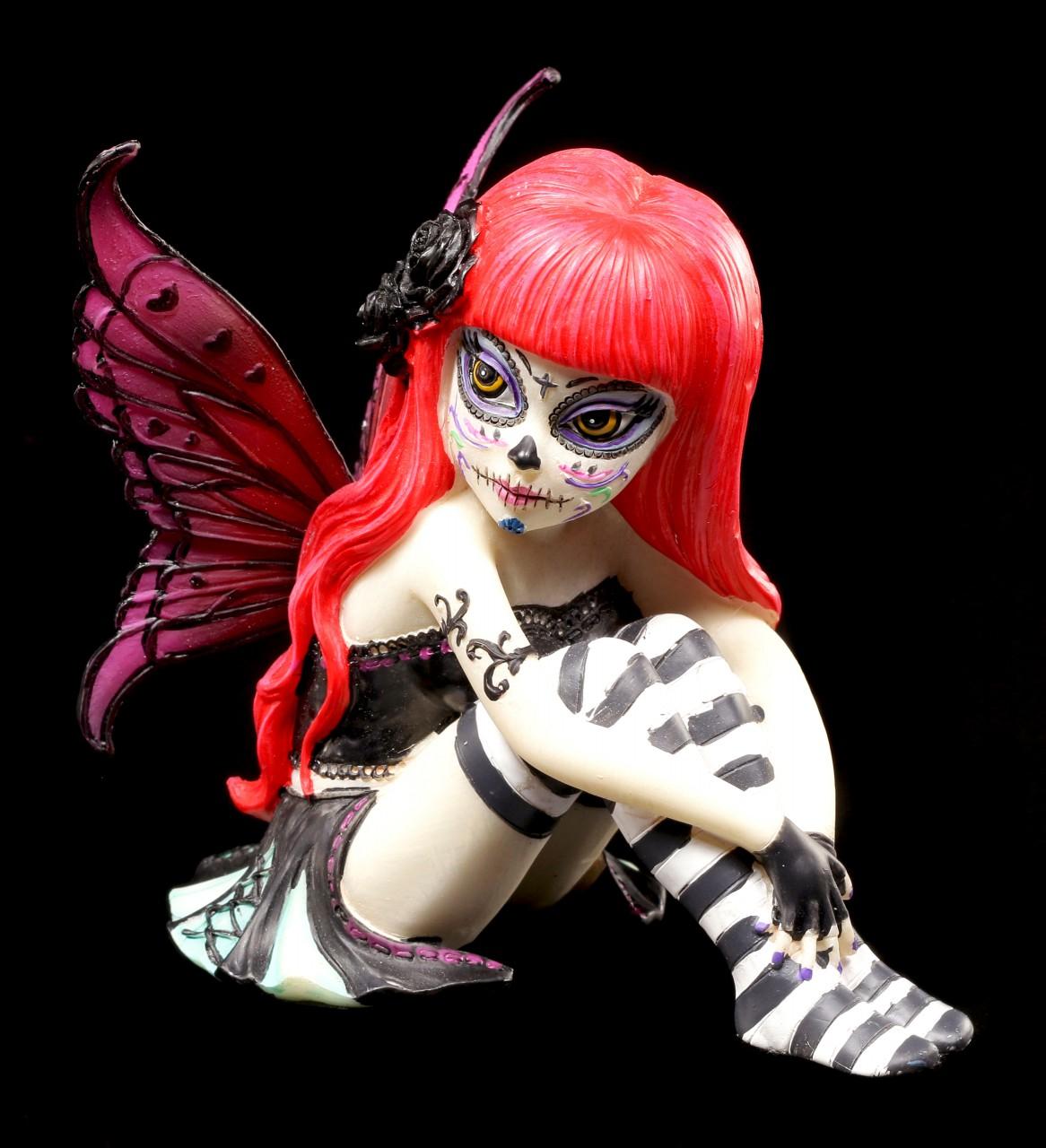 Fairy Figurine Valentina - Sugar Skull Fairy