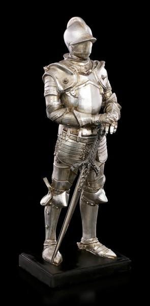 Ritter Figur - Schwert mittig auf Podest