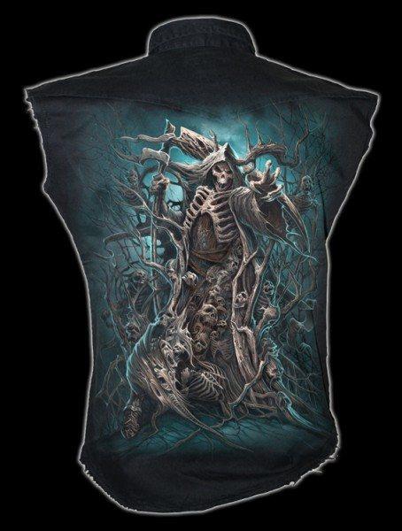 Ärmelloses Worker Shirt - Forest Reaper