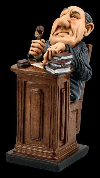 Funny Job Figur - Richter mit Hammer