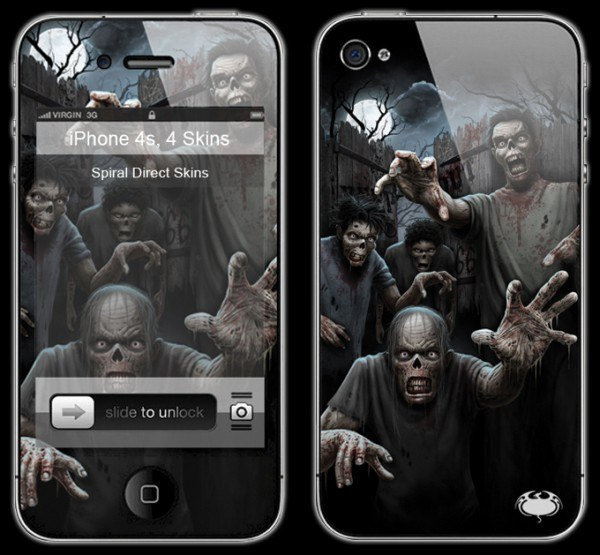 Smartphone Skin - Zombies Unleashed
