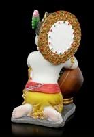 Baby Krishna Figur stiehlt Butter