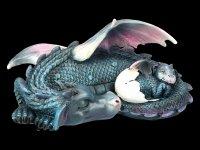 Dragon Figurine - Dream a little Dream - blue