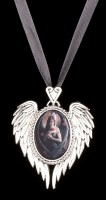 Angel Rose Cameo by Anne Stokes