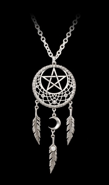 Alchemy Necklace - Pagan Dream Catcher
