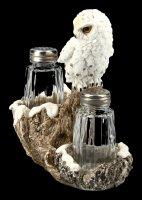 Salz- und Pfefferstreuer - Schneeeule