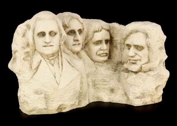 Mount Rushmore National Memorial - steinfarben