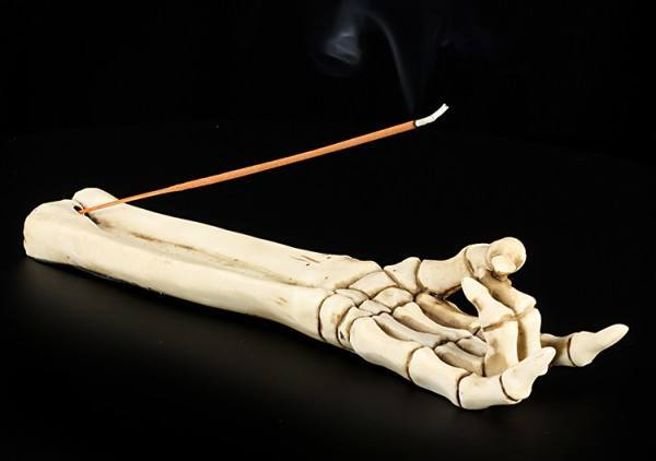 Devil Horn - Skeleton Incense Stick Holder