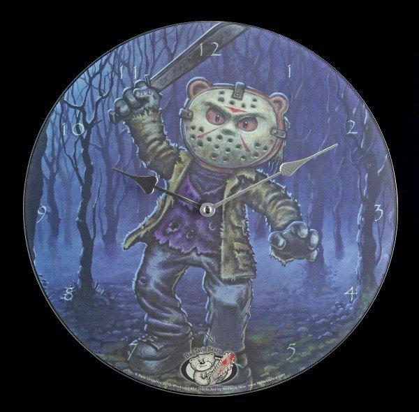 Glas Wanduhr - Bad Taste Bears - Jason
